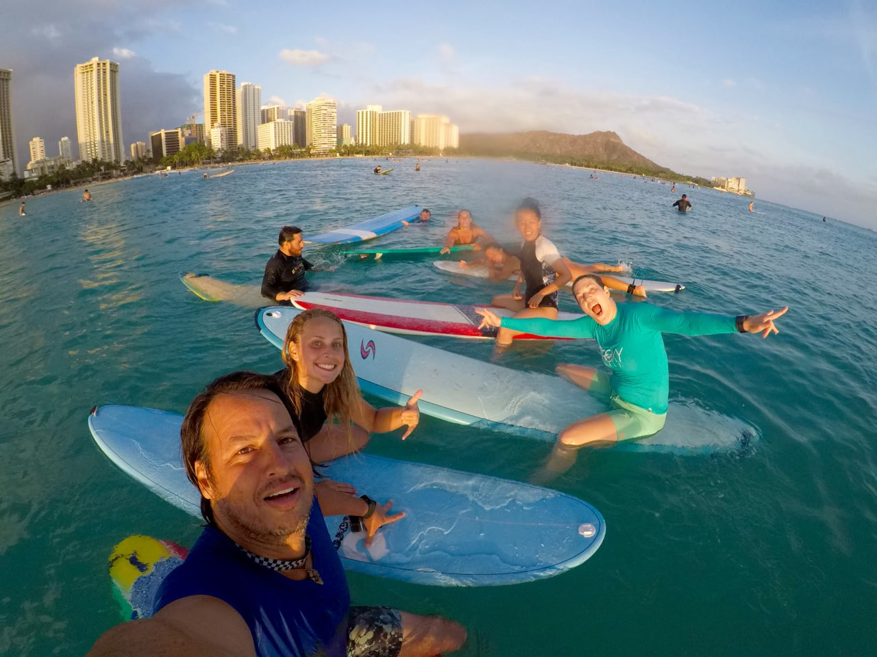 surf, Waikiki, Oahu, Hawaii, Honolulu, Surf camp, surf Hawaii, adventure
